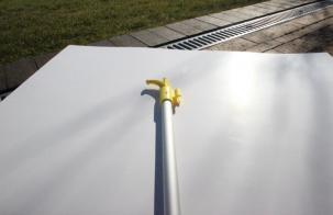 Bådshage Alu. 150 cm